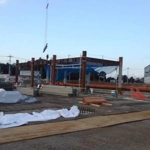 柏市物流倉庫(5,000t)建方開始