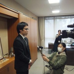 贈呈式(大分県立工科短期大学校)