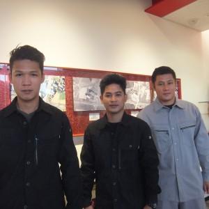 第5期フィリピン研修生入社