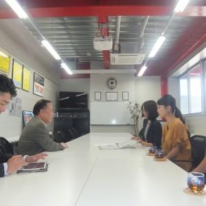 第2回OAB大分朝日放送「タウンスパイス」収録