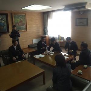 宇佐市との津波時における一時避難所防災協定